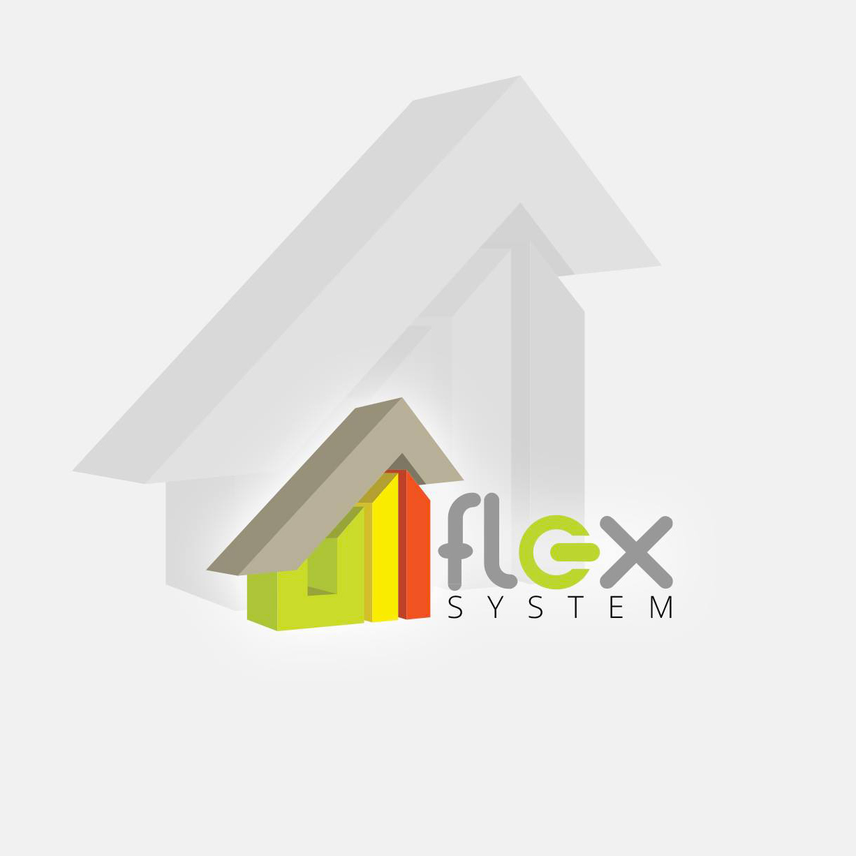 Conception du logo Flex System