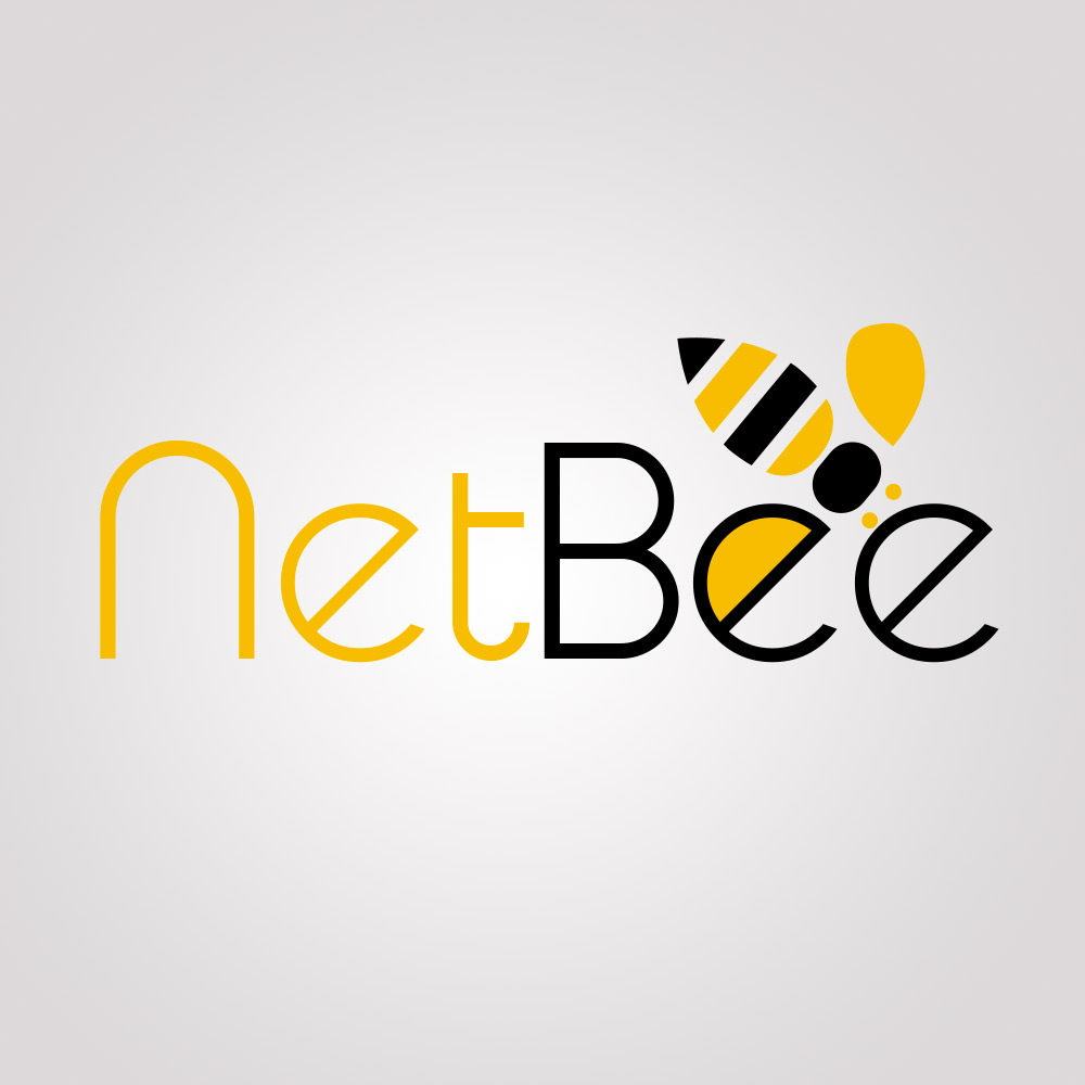 Conception du logo Net Bee