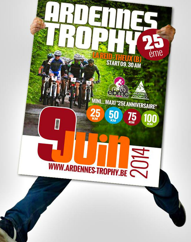 Affiche Ardennes Trophy 2014