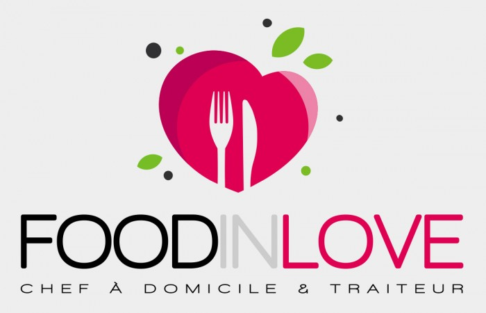 Conception logo Food in Love