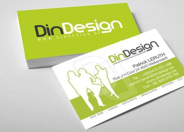 Cartes De Visite DinDesign